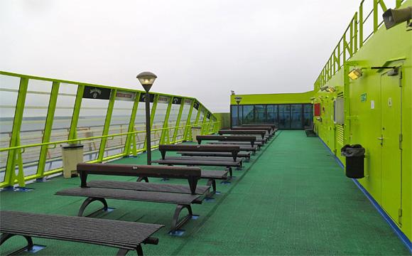 タリン港からヘルシンキ港への船旅・フェリー「スーパースター」
