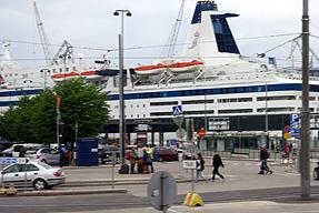 フィンランド・ヘルシンキ港