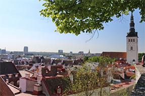 タリンの旧市街