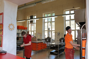 タリンのパン職人の店