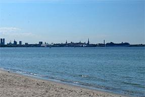 タリンのピリタ海岸