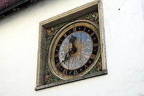 タリンの聖霊教会・公共の時計