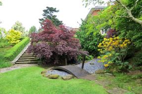 アッパーハウスの庭