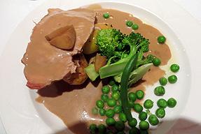 ポーク+ポテト 温野菜