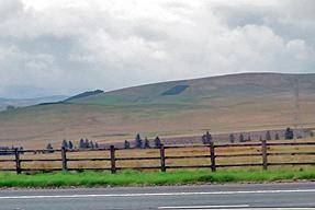 グラスゴーからグレトナグリーンへの道風景