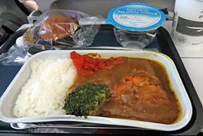 ブリティッシュ・エアウェイズ 機内食