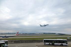 羽田空港〜ヒースロー空港