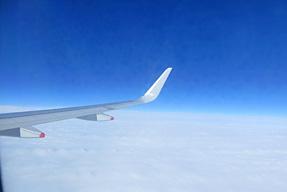 ヒースロー空港からグラスゴー空港への空路