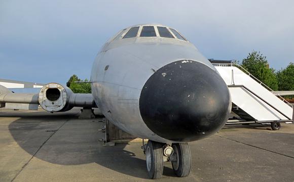 ビートルズが乗った飛行機