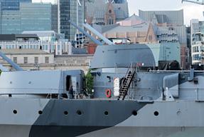巡洋艦ベルファスト記念艦