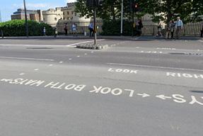 ロンドンの横断歩道