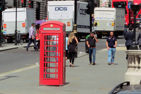 電話ボックス