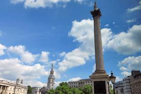 トラファルガー広場・ネルソン記念柱