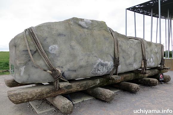ストーンヘンジ・巨石の運搬