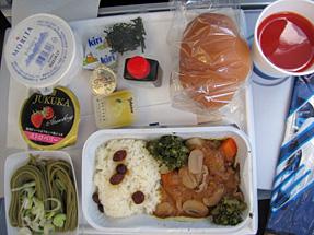 フィンランド航空・機内食