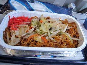 ヘルシンキ航空・機内食