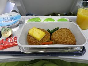 ィンランド航空・機内食