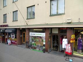 ヘルシンキの街角