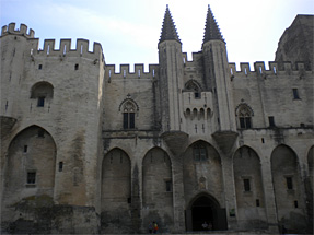 法王庁宮殿(外観)