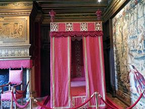 シュノンソー城、セザール・ド・ヴァンドームの居室
