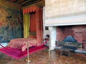 シュノンソー城、ガブリエル・デストレの居室
