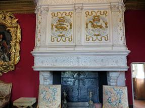 シュノンソー城、ルイ14世のサロン