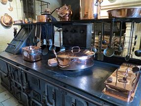 シュノンソー城、厨房