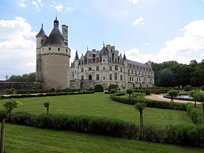 シュノンソー城、カトリーヌ・ド・メディシスの庭園