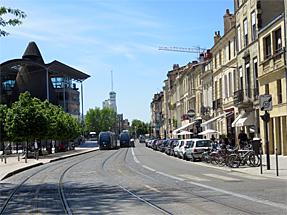 ボルドーの市街