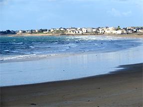 サン・マロの海岸