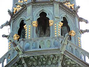 モン・サン・ミッシェル・修道院(外観)