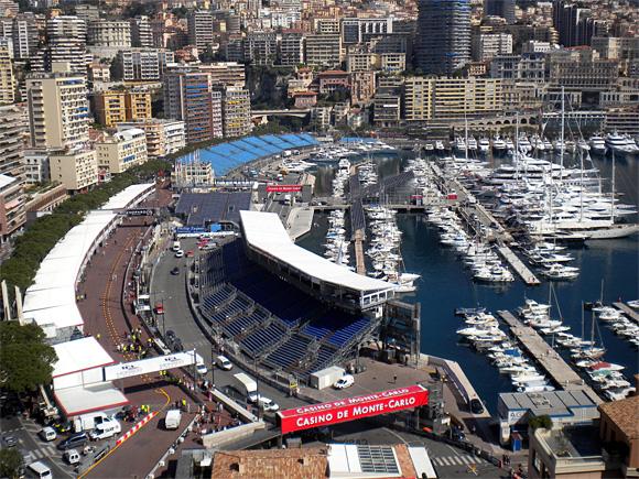F1モナコグランプリ会場