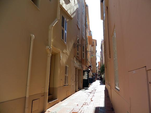 モナコの小路