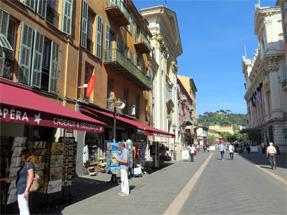 ニース旧市街