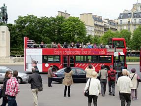 オープンデッキ・バス