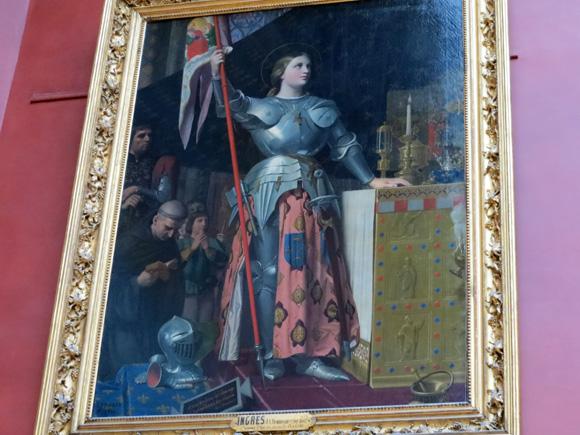 シャルル7世の戴冠式におけるジャンヌ・ダルク