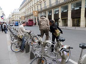 「ベリブ」自転車