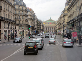 パリの市街