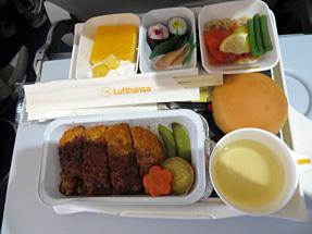 機内食・味噌カツ丼