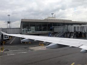 シャルル・ド・ゴール空港〜フランクフルト空港への空路