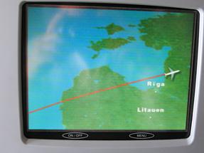 フランクフルト空港〜中部国際空港への空路