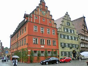 ディンケルスビュール旧市街