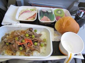 ルフトハンザ・ドイツ航空の機内食