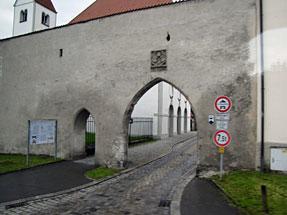 ホーエンシュヴァンガウへの道風景