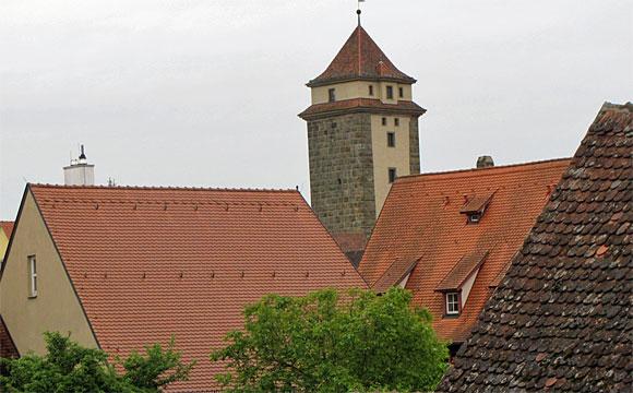 城壁からの景観