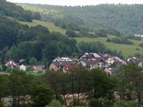 ローテンブルクへの道風景