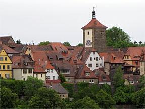 ローテンブルク旧市街