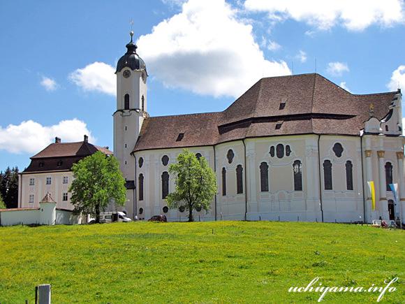 ヴィース教会の外観