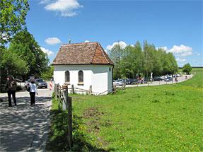最初に建てられた礼拝堂