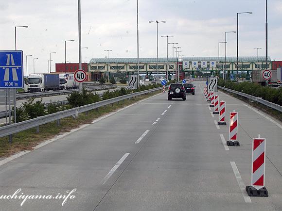 スロバキア国境